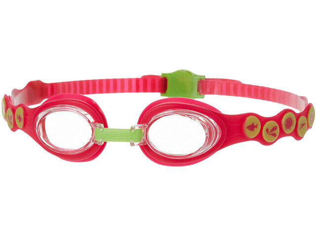 speedo Sea Squad Goggles Kids passion pink/hydro green